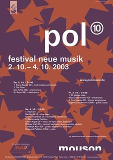 Pol 10 Poster von Stefan Beck