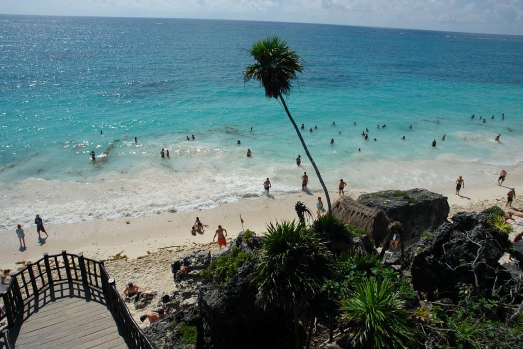 """Playa de las ruinas de la ciudad de Tulúm1 tulum, el """"beach resort"""" de los mayas - 5461425250 44d5f7a992 o - Tulum, el """"beach resort"""" de los Mayas"""