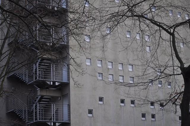 Fenster - locker verteilt