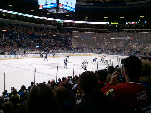 Blackhawks vs. Blues - Presidents Day 2011