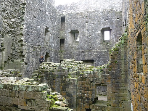 Ruined Interior, Hermitage Castle