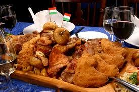 Hungarian peasant plate fatanyeros flickr photo sharing for Cuisine hongroise