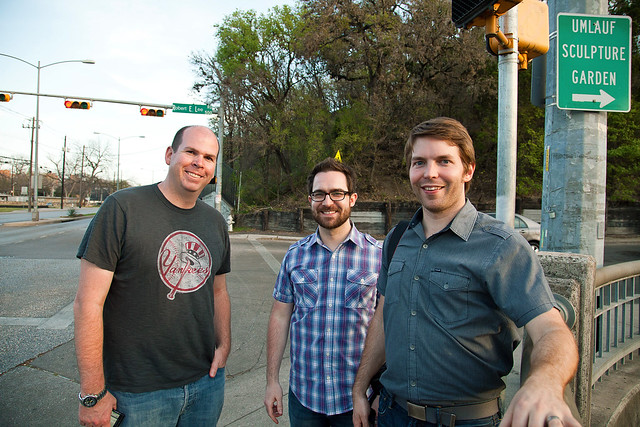 Dave, Jacob, adn Dustin @ Barton Springs