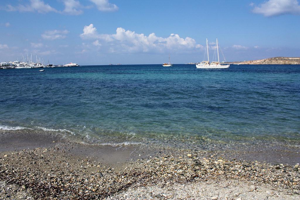 Paroikia, Paros beach