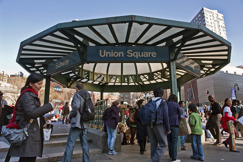 Union Square Station Subway Kiosk by Harris Graber