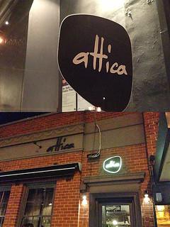 Attica in Melbourne, Australia