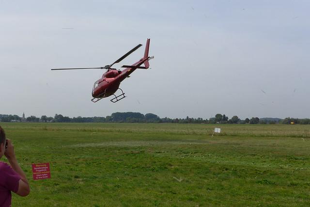 Hubschrauberabflug #1