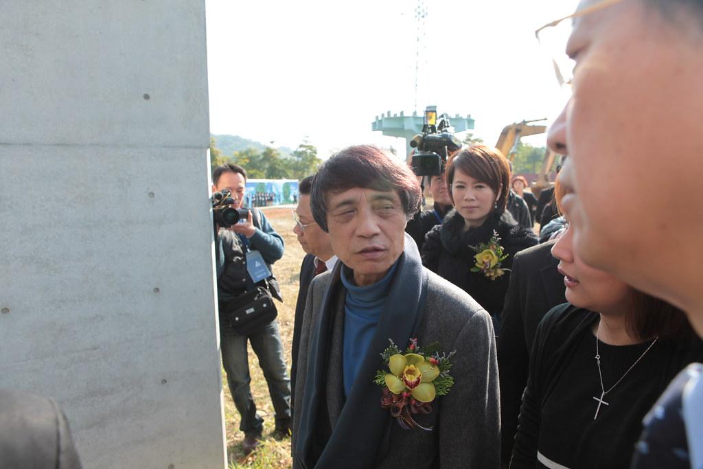 IMG_8813 - 安藤忠雄步入亞洲大學藝術館動土典禮現場.JPG