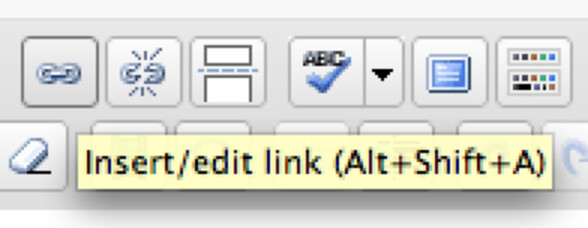 Add link icon