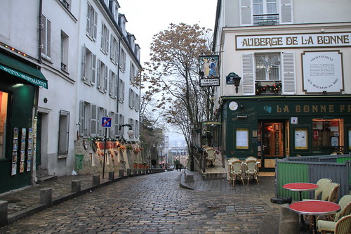 Montmartre Market near the Sacre Coure Basilica