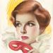 CHARLES GATES SHELDON (American, 1889-1960). Katherine Hepburn