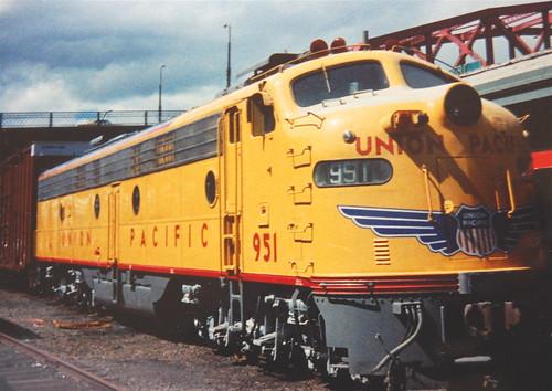 Old diesel 951