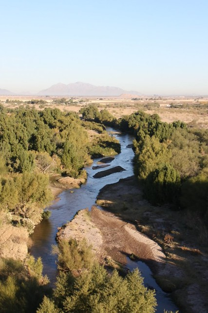 Santa Cruz River Winding North