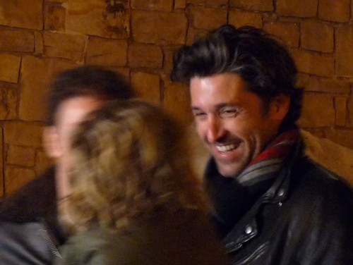 Patrick Dempsey in Park City, UT during Sundance Film Festival cropped a little