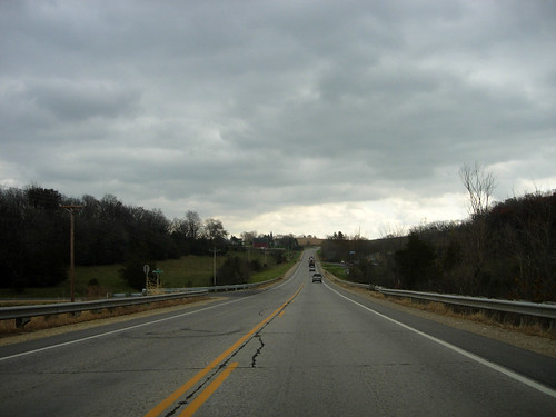 U.S. 10 Eastbound, halfway between Prescott and Trimbelle