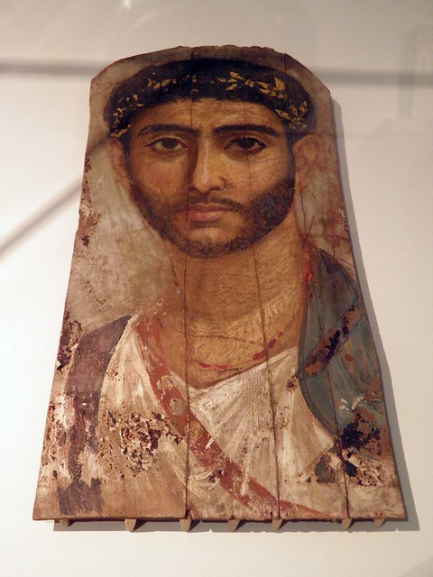 Mummy Portraits from Roman Tombs in Egypt, Altes Museum Berlin