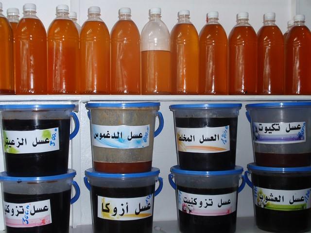 Header of argan oil