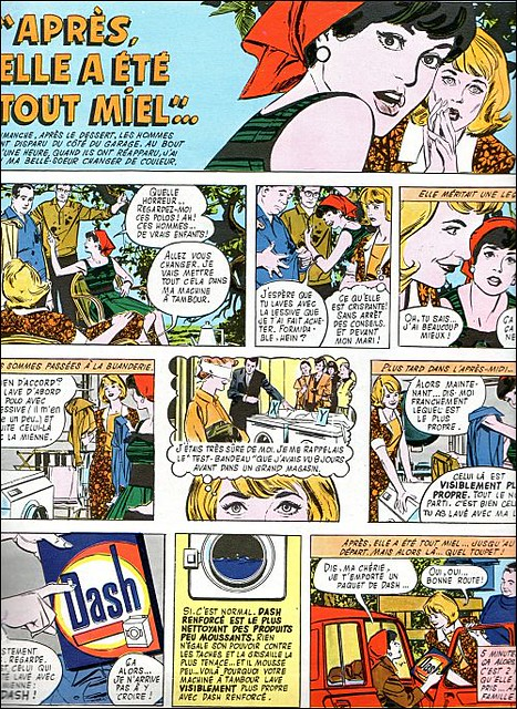 the 1960s-ad for Dash washing-powder