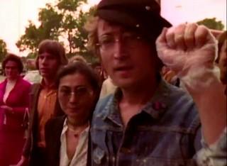 John & Yoko Marching