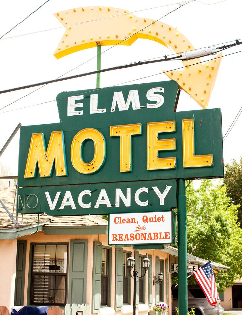 Elms Motel Bishop Ca