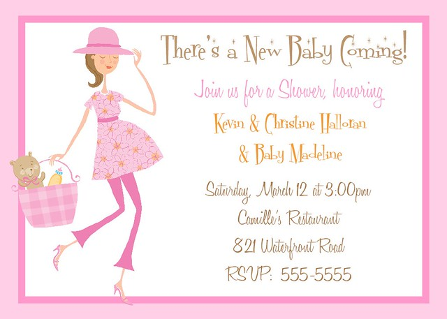 Adoption or Baby Shower Invitation 4 | Flickr - Photo Sharing!
