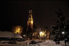 Sint Urbanskerk in de nacht
