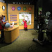 <p>The WKVM News and Weather Center was a big hit with the younger attendees of opening night.</p>