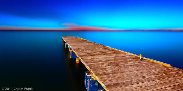 Infinitely Blue