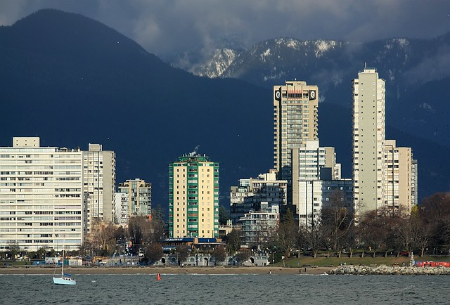 Kitsilano, West End, North Shore, Vancouver