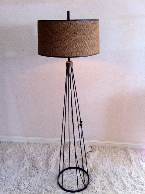 1950s eiffel tower floor lamp flickr photo sharing. Black Bedroom Furniture Sets. Home Design Ideas