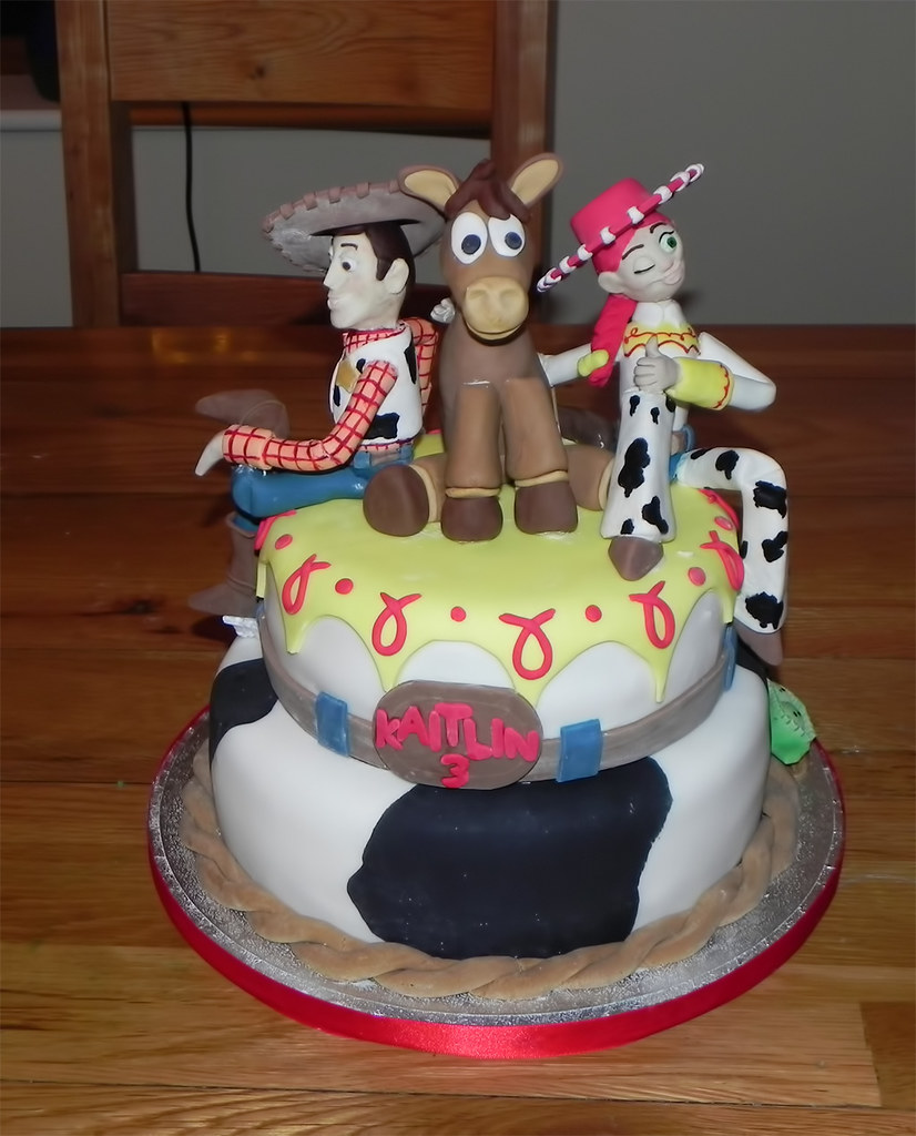 Toy Story Jessie And Woody Cake Donna Watkins Flickr
