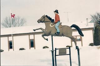 Sturgis, Saskatchewan - Bucking Horse