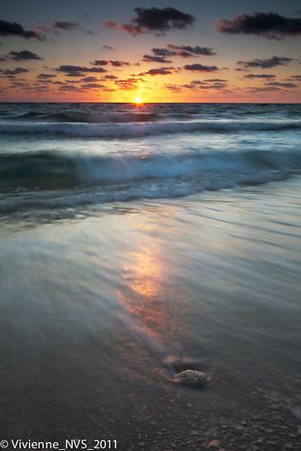 ocean beach sunrise sand florida ftlauderdale