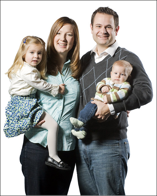 I shot family portraits at church and this was my favorite family. I see them every week and never say hi. They don't know that I secretly think they're awesome lol.