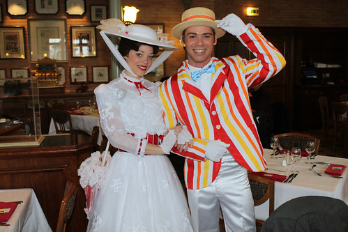 Meeting Mary Poppins and Bert