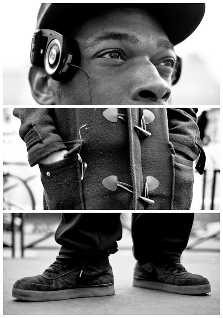 Triptychs of Strangers #7: France got talent - Paris