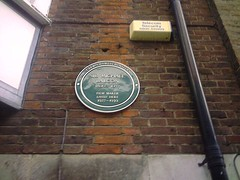 Photo of Michael Balcon green plaque