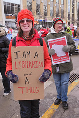 Ever Notice What Outright Thugs Librarians Are?