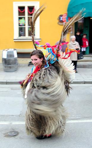 carnival woman brown amanda girl smile hair big scary eyes pretty looking mask very traditional young parade lovely dressed msh braided sidewaysglance ptuj woolen shrovetide kurent upasthe klubveseljakinjdraženci msh0644 msh064420 msh0212 msh02122