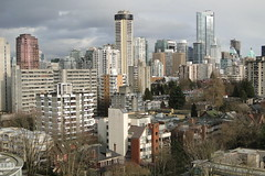Vancouver, BC, Canada - West End Vista - From 19th Floor of Coast Plaza Hotel - 02
