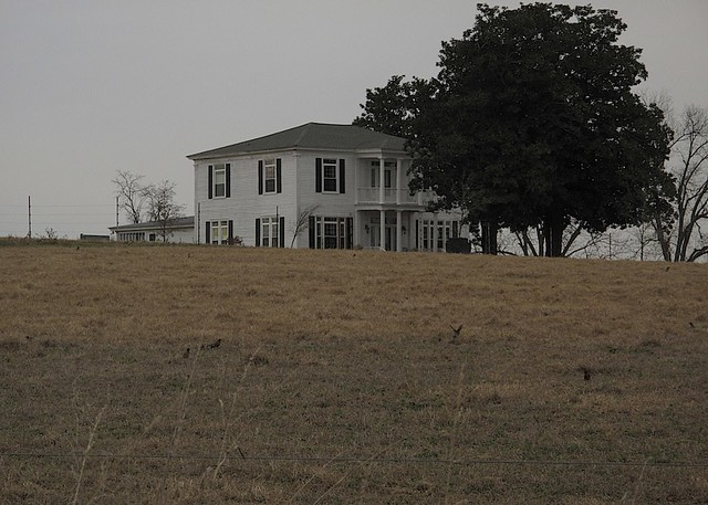 FARM HOUSE USED IN THE COLOR PURPLE