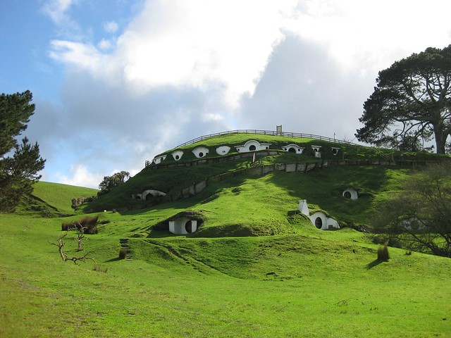 Bag End, Matamata, Hobbiton, New Zealand