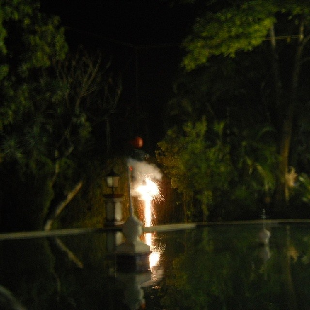 quema de judas Jardín Borda 2014 - foto 1
