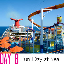 2014 Carnival Breeze Day 8 - Farewell Day at Sea