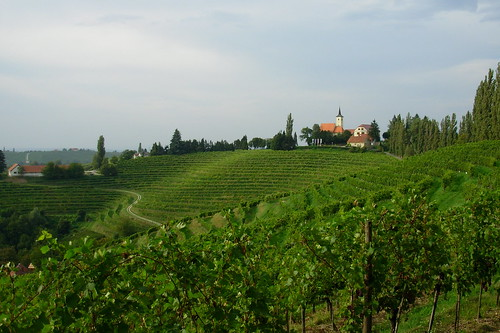 mountains church landscape slovenia slovenija montagna jeruzalem wineyards vigneti allegrisinasceosidiventa