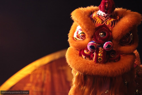 2011 Medan's Imlek Fair | Barongsai, Up Close and Personal
