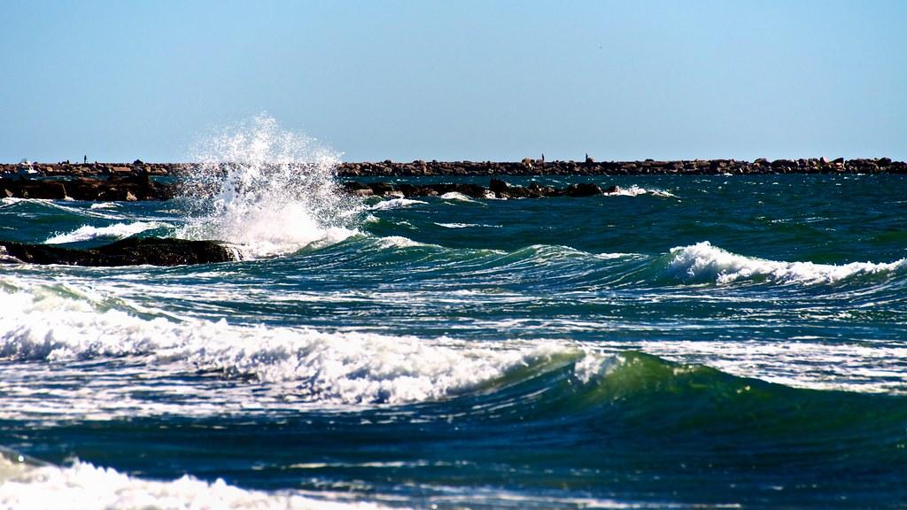 Roger Wheeler State Beach Narragansett Ri  Usa