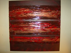 Untitled Red and Copper