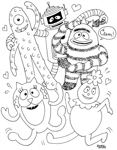 aquabats coloring pages - photo#43