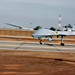Small photo of MQ-1C Sky Warrior aircraft landing